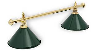 Светильник для бильярдного стола Evergreen 2 плафона(Тайвань)