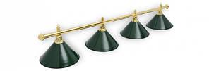 Светильник для бильярдного стола Evergreen 4 плафона(Тайвань)