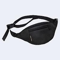 Поясная сумка Twins черная, фото 1