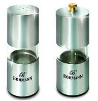 Перечница + солонка прозрачные Bohmann BH 7810