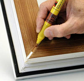 Лакофарбова продукція для відновлення вікон ПВХ