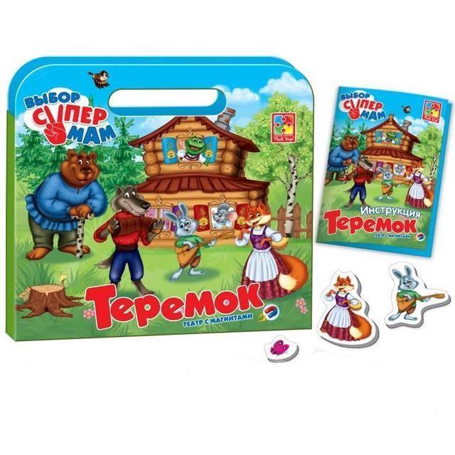 Игра Vladi Toys Магнитный театр Теремок (Рус) (VT3105-14)