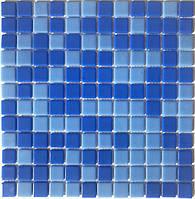 Мозаика синяя с голубым Vivacer VPmix21