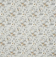 Ткань для штор Neus Розы мелкие цвет бежевый 280 см