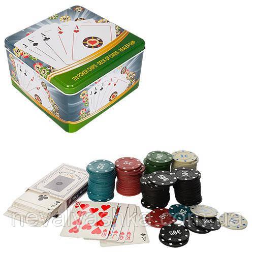 Настольная Азартная Игра Покер Набор Покера, D7, 007708