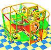 Детский игровой лабиринт «Апельсинка-2», 3*3 клетки