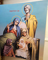 Рождество Пресвятой Богородицы икона на пвх 1.8х1.5м