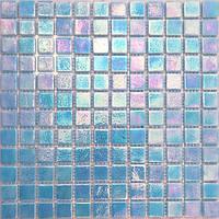 Голубая перламутровая мозаика Vivacer VPR119