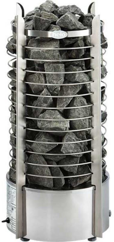 Электрокаменка Helo RING 80 DE (мат.нерж.сталь)