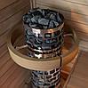 Электрокаменка для сауны Sawo Aries Tower Round ARI3-75NB, фото 3