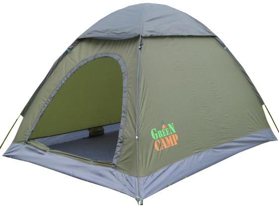 Палатка 2-х местная GreenCamp 1503 (210x150x130 см)