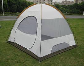 Палатка 2-х местная GreenCamp 1503 (210x150x130 см), фото 2
