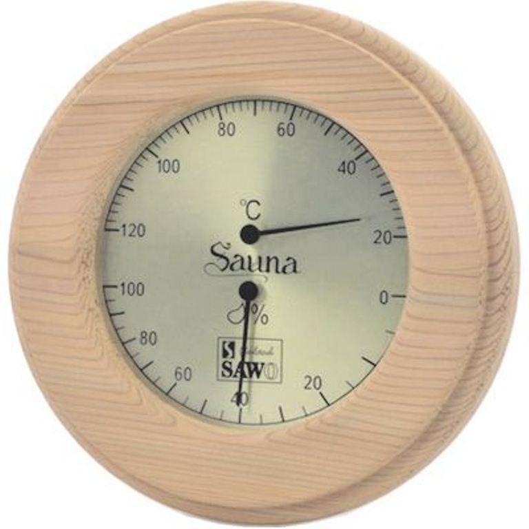 Термогигрометр SAWO 231 TH круглый