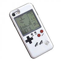 Чехол панель Tetris Case Laudtec Wanle для смартфонов Apple iPhone 6/6S Plus с игрой Тетрис Белый SUN91150