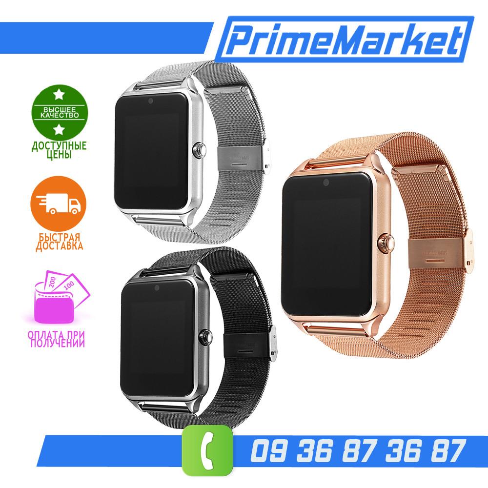 Z60 Умные часы Smart Watch с Металлическим ремешком (Z50/GT08), фото 1