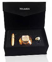 Подарочный набор Paco Rabanne Lady Million (Пако Рабанне Леди на Миллион) в бархатной коробке, фото 1