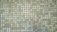 """Листовая панель ПВХ """"Мозаіка коричнева з визерунком"""" 0,4мм (955*488 мм)"""