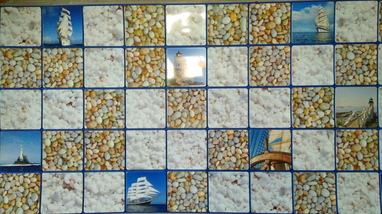 """Панелі ПВХ """"Море"""" 0,4мм (955*488 мм)"""