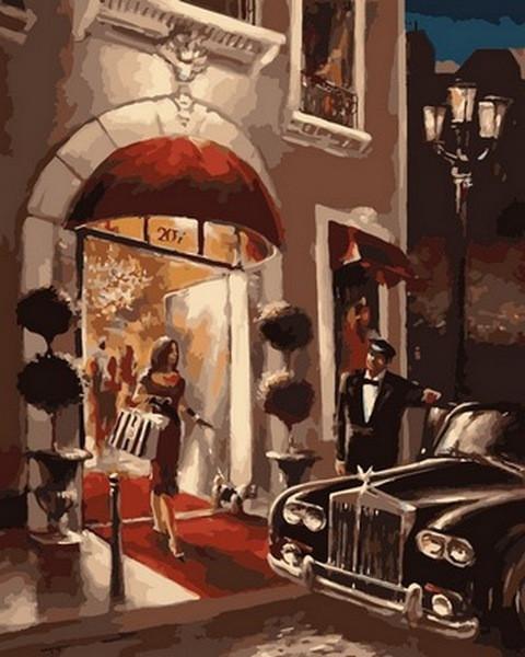 Картина по номерам  Чувство стиля , 40x50 см., Babylon