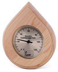 Термометр для бани SAWO 250 T капля