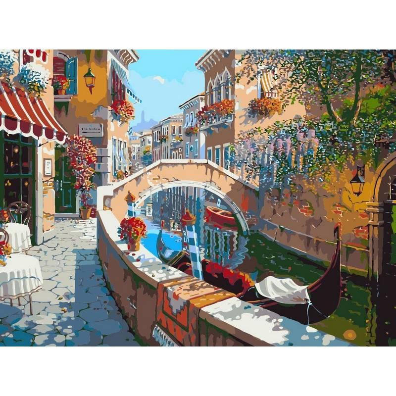 Картина по номерам Сан-Марко. Худ. Боб Пейман, 40x50 см., Babylon