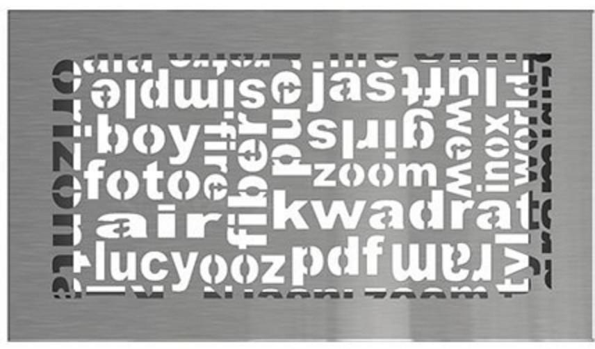 Решетка Kratki ABC 17х30 шлифованная