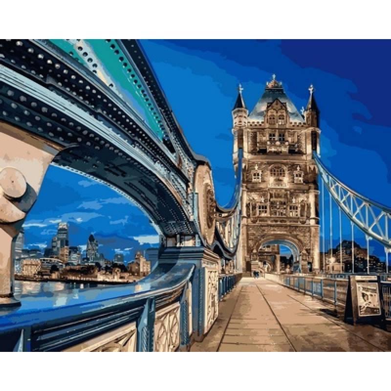 Картина по номерам  Лондонский мост, 40x50 см., Babylon