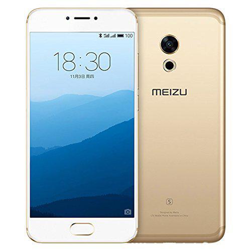 "Смартфон Meizu PRO 6S 4/64Gb Gold, 12/5Мп, 10 ядер, 2sim, экран 5.2"" IPS, 3060mAh, GPS, 4G, Android 6"