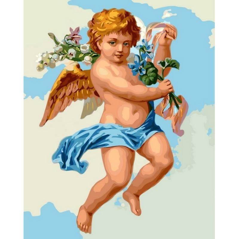 Картина по номерам Купидон, 40x50 см., Babylon