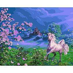 Картина за номерами VP170 Рожева кінь. Худ. Віктор Циганов, 40x50 см., Babylon