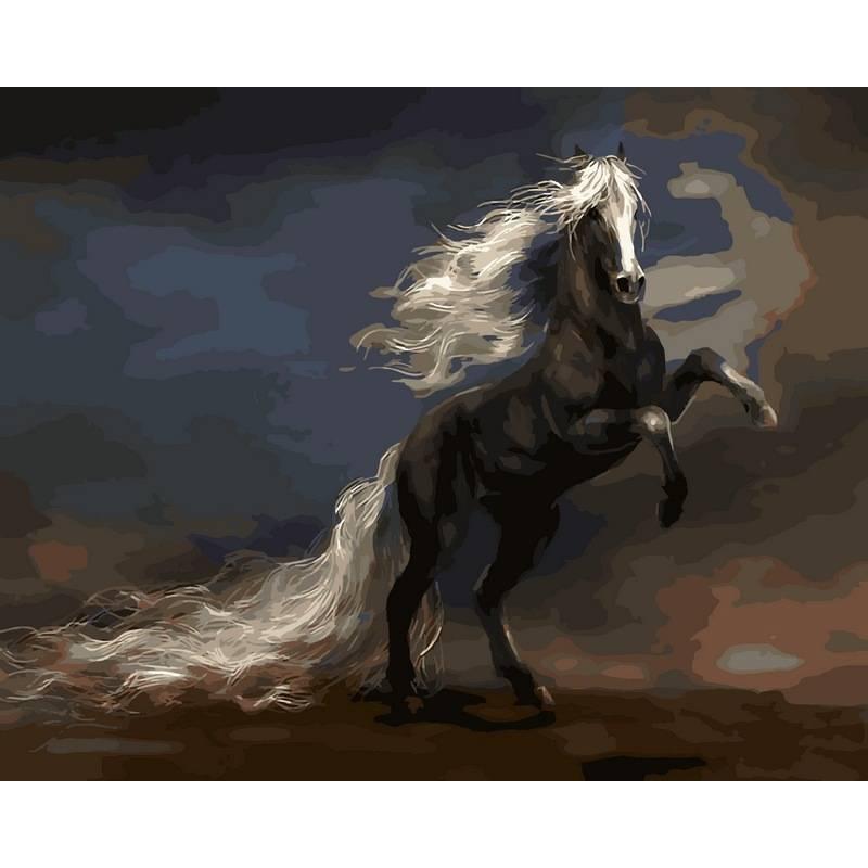 Картина по номерам  Чудный конь. Худ. Владимир Бенедиктов, 40x50 см., Babylon
