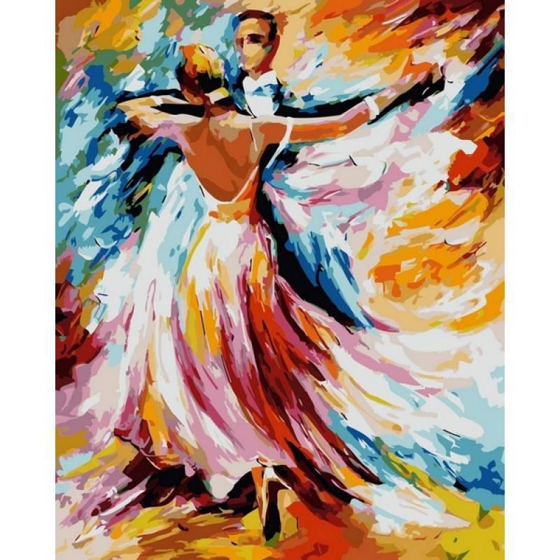 Картина по номерам Осенний вальс. Худ. Леонид Афремов, 40x50 см., Babylon