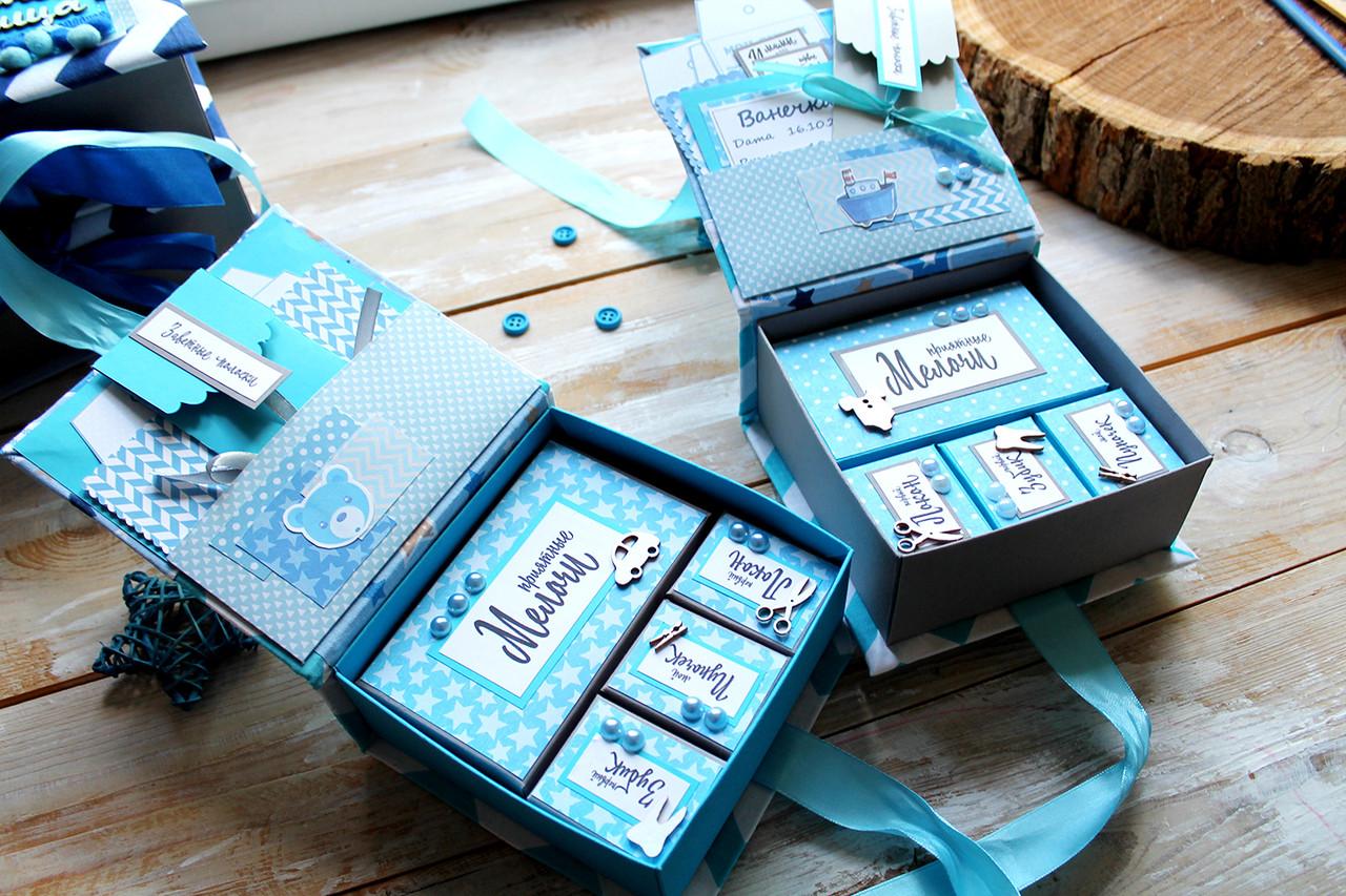 Мамины Сокровища для мальчика (внутр.коробочек-4шт, 14*3*6см)