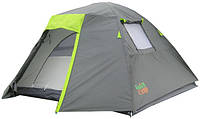 Палатка 4-х местная GreenCamp 1013-4 (290x250x150 см)