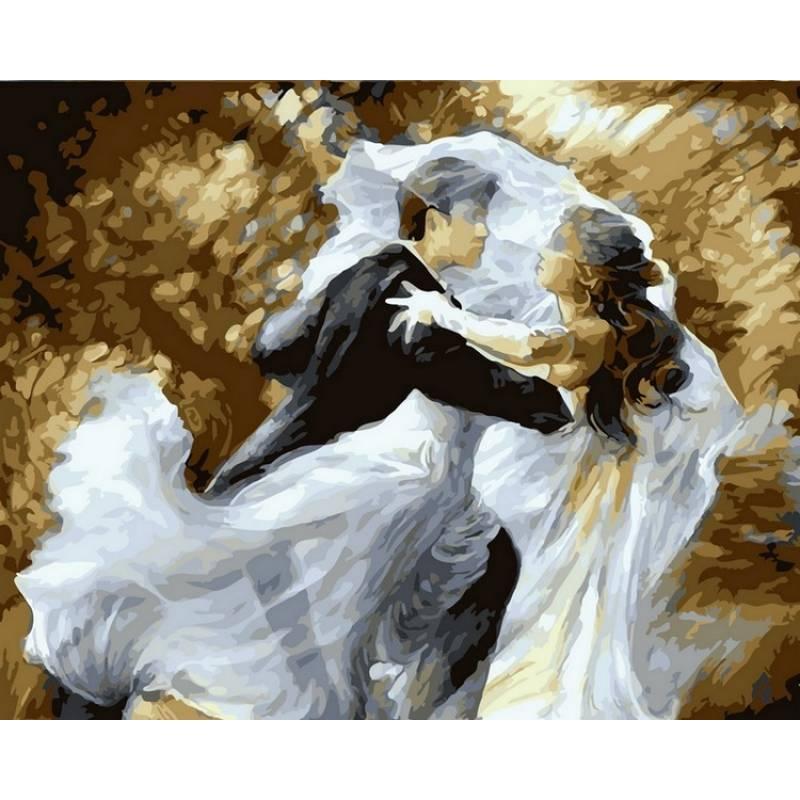 Картина по номерам  Свадебный вальс. Худ Елена Сотскова, 40x50 см., Babylon