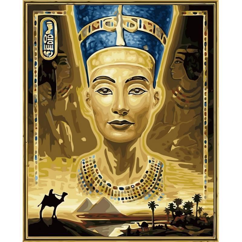 Картина по номерам  Нифертити, 40x50 см., Babylon