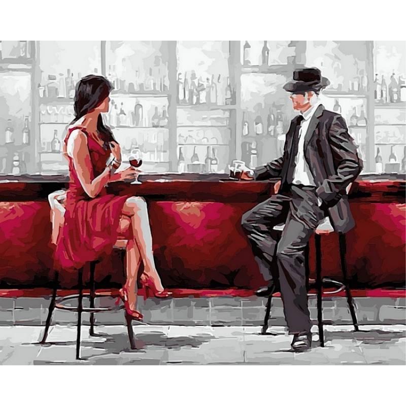 Картина по номерам Ретро, 40x50 см., Babylon