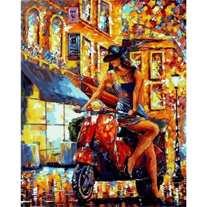 Картина по номерам  Всегда прекрасна, 40x50 см., Babylon