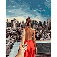"Картина по номерам  ""Следуй за мной Манхеттен. Худ. Мурад Османн "", 40x50 см., Babylon"