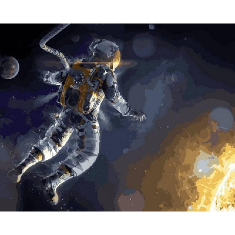 Картина по номерам Гравитация, 40x50 см., Babylon