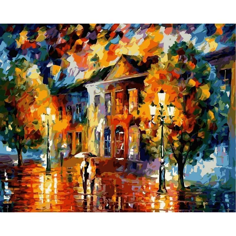Картина по номерам Краски осени, 40x50 см., Babylon