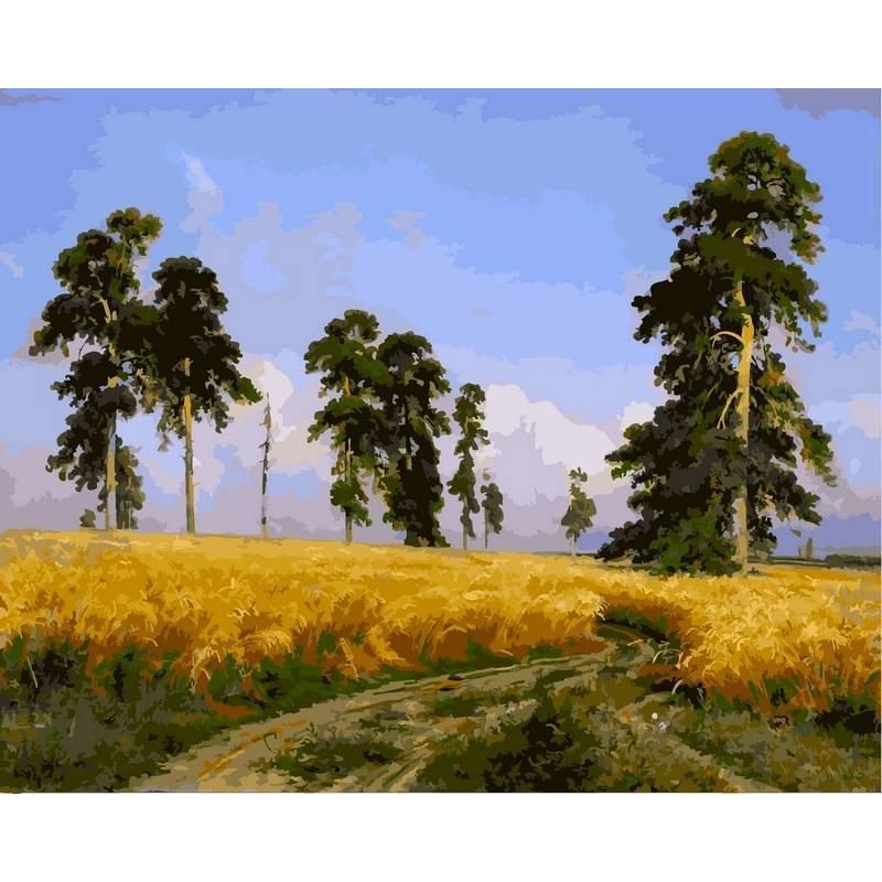 Картина по номерам Рожь, 40x50 см., Babylon