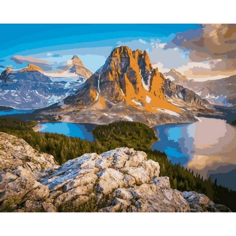 Картина по номерам  Канада Британская Колумбия, 40x50 см., Babylon