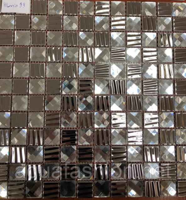 плитка мозаика на сетке