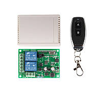 433МГц 2-х канальный беспроводной выключатель на 220В + Пульт