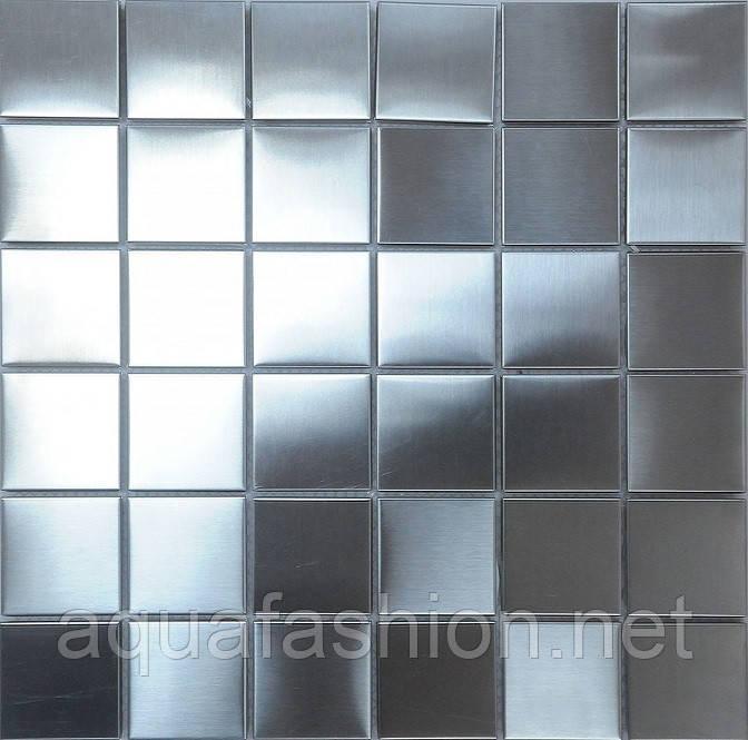 Серебряная мозаика для отделки Vivacer MT-1