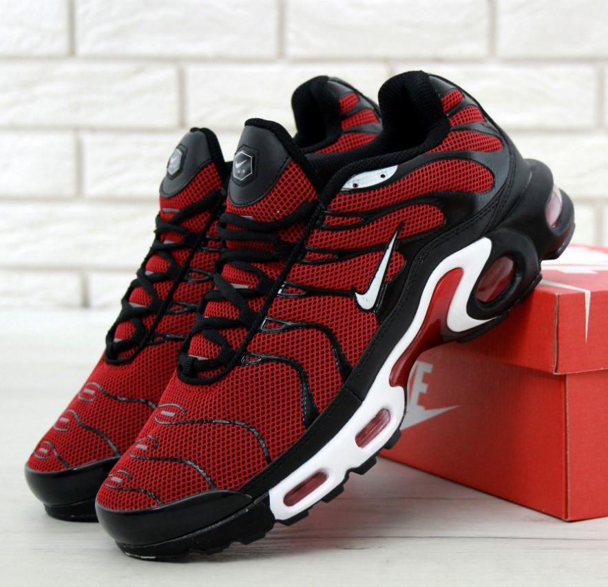 1443e712 Кроссовки Nike Air Max TN Red/Black/White мужские: купить в Киеве ...