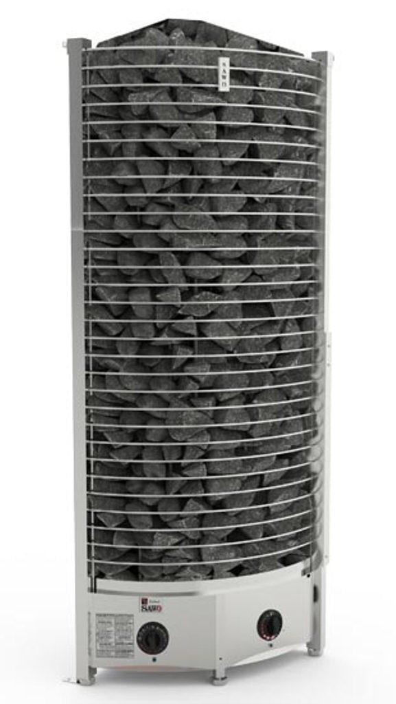 Электрокаменка Sawo Tower Heater Corner TH6-80NB-CNR