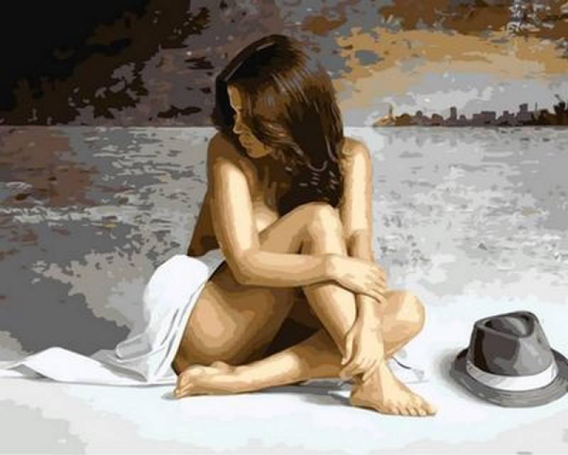 Картина по номерам Очарование, 40x50 см., Mariposa