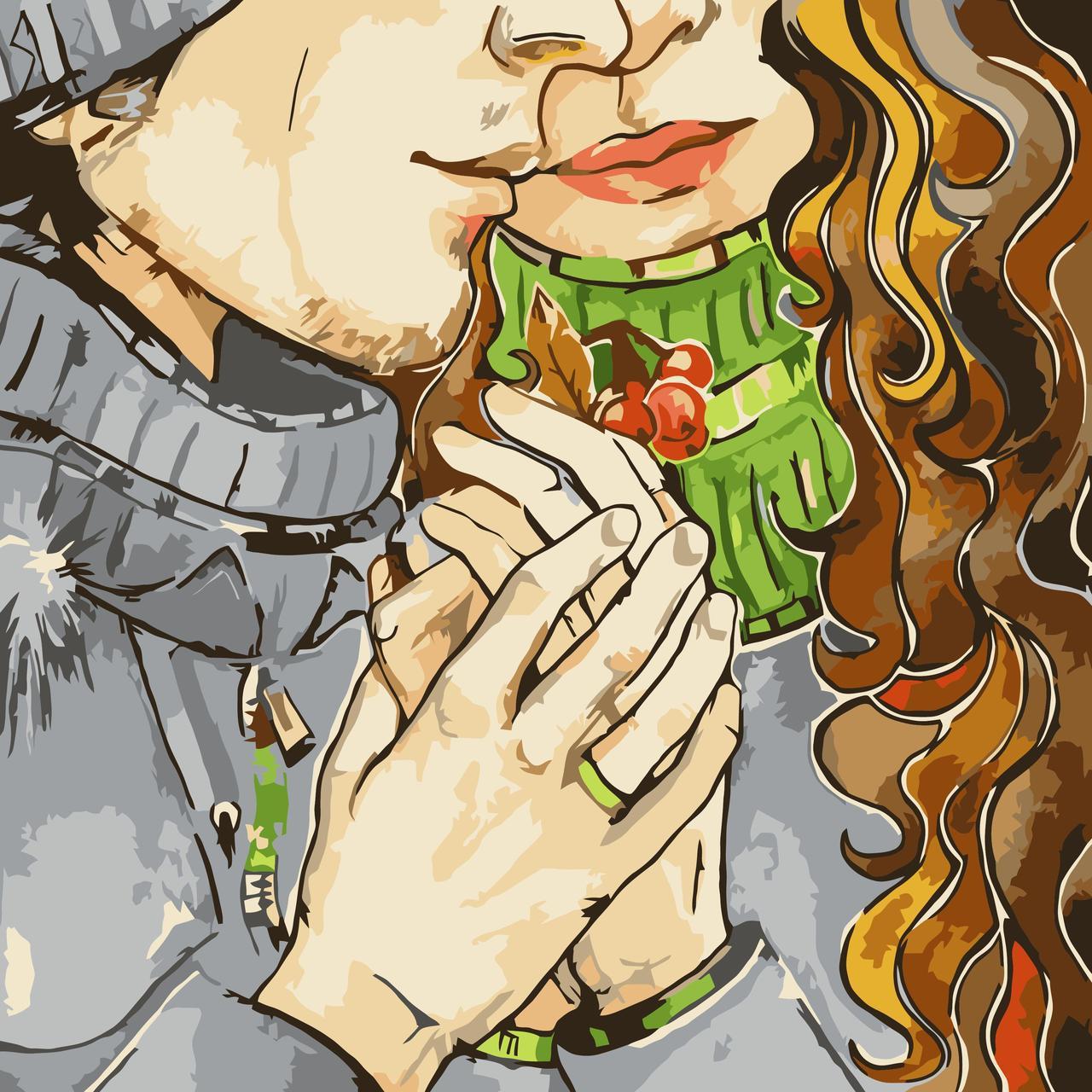 Картина по номерам Любовь, 40x50 см., Идейка